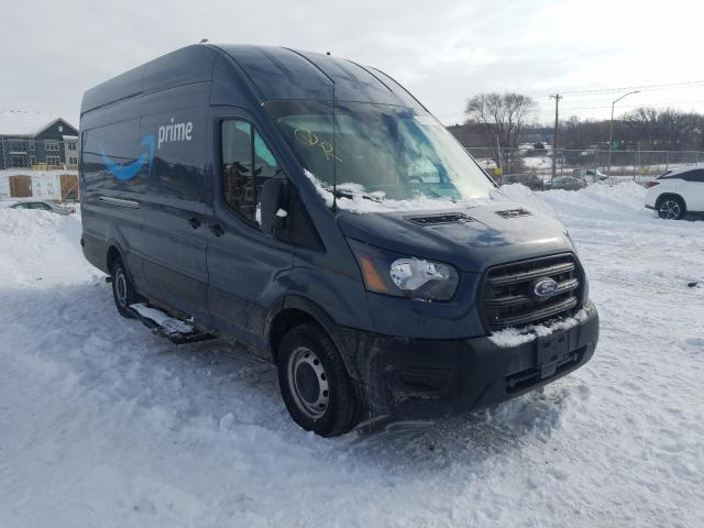 Salvage cars for sale from Copart Madison, WI: 2020 Ford Transit T