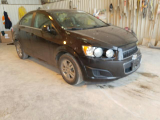 Salvage cars for sale from Copart Abilene, TX: 2015 Chevrolet Sonic LT