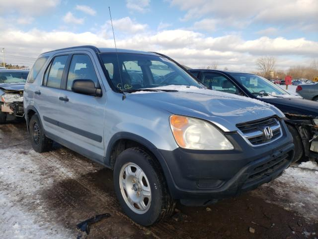 Salvage cars for sale from Copart Columbia Station, OH: 2002 Honda CR-V LX