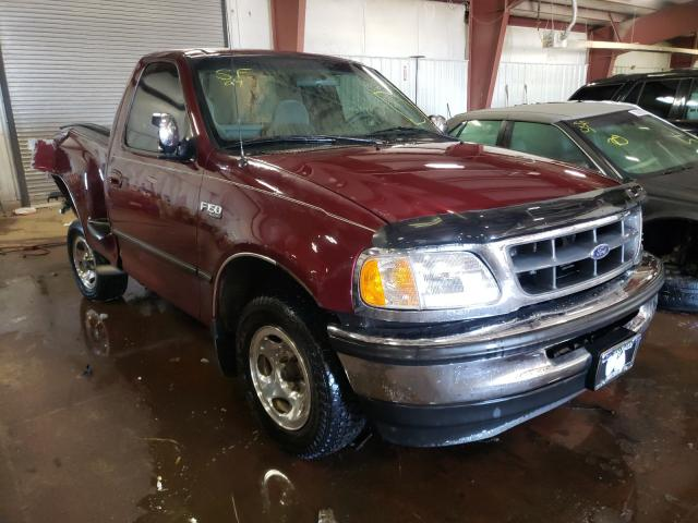 Salvage cars for sale at Lansing, MI auction: 1997 Ford F150
