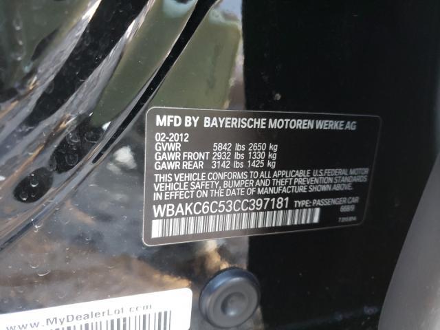 2012 BMW ALPINA B7 | Vin: WBAKC6C53CC397181
