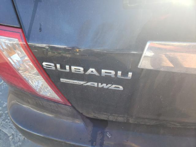 2010 SUBARU IMPREZA 2. JF1GE6B62AH500500
