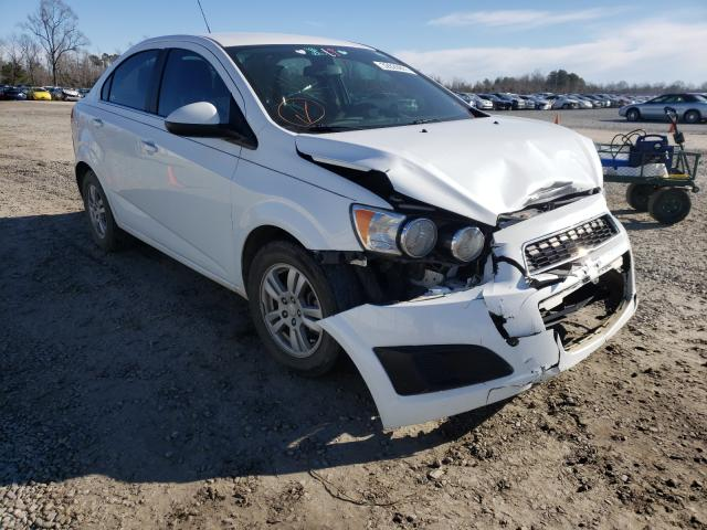 Salvage cars for sale from Copart Lumberton, NC: 2015 Chevrolet Sonic LT