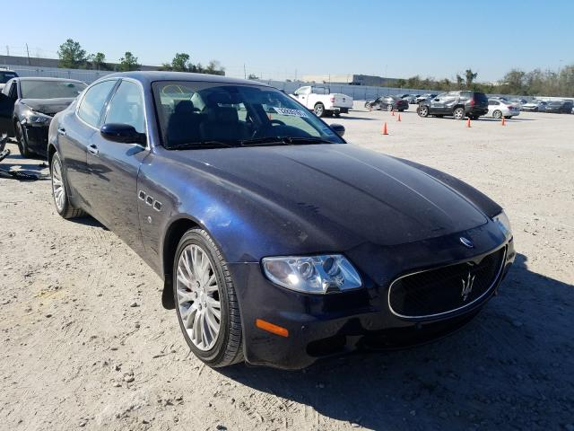 Maserati Quattropor salvage cars for sale: 2008 Maserati Quattropor