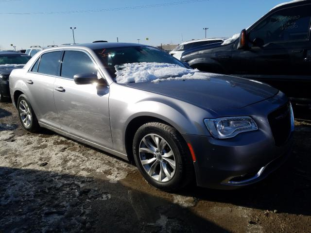 Salvage cars for sale from Copart Indianapolis, IN: 2015 Chrysler 300 Limited