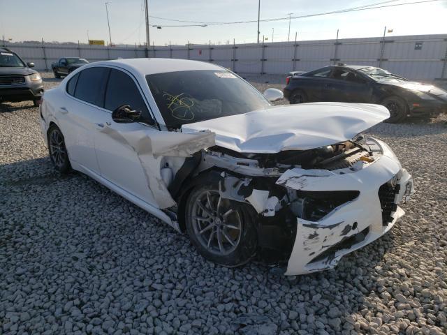 Salvage cars for sale at Alorton, IL auction: 2017 Alfa Romeo Giulia Q4