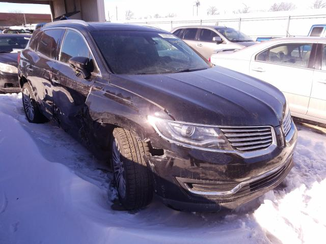 Vehiculos salvage en venta de Copart Fort Wayne, IN: 2017 Lincoln MKX Reserv