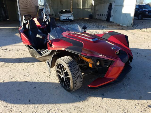 Salvage cars for sale from Copart China Grove, NC: 2018 Polaris Slingshot