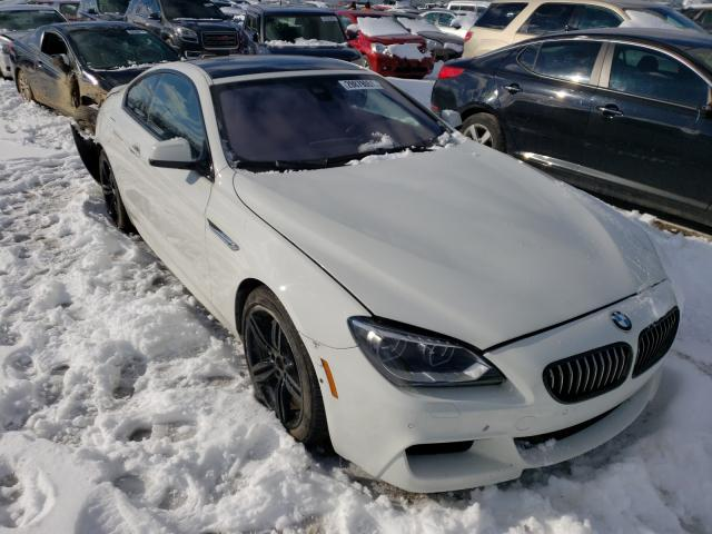 Salvage cars for sale from Copart Columbus, OH: 2014 BMW 650 I