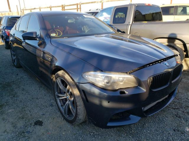 Salvage cars for sale from Copart Los Angeles, CA: 2013 BMW M5