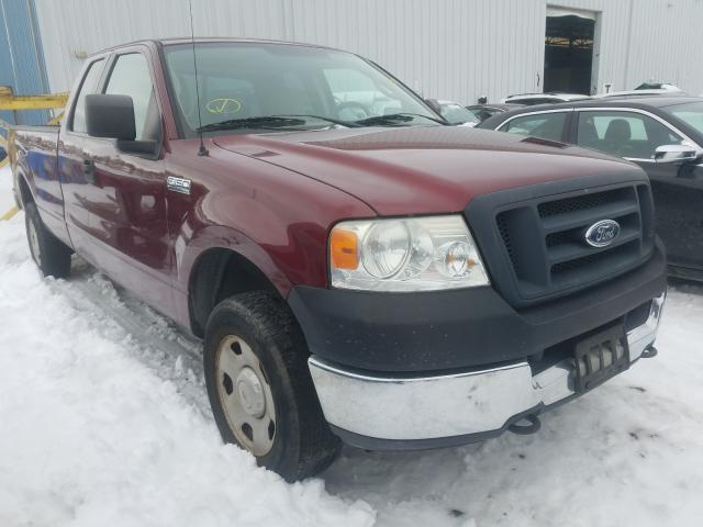 Salvage cars for sale from Copart Windsor, NJ: 2005 Ford F150