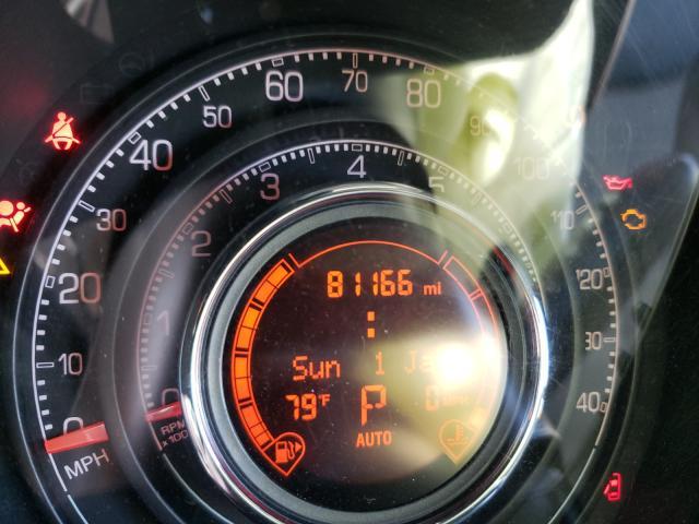 2013 Fiat 500   Vin: 3C3CFFBRXDT618689