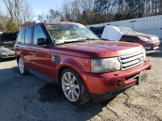 Salvage cars for sale from Copart Fredericksburg, VA: 2007 Land Rover Range Rover