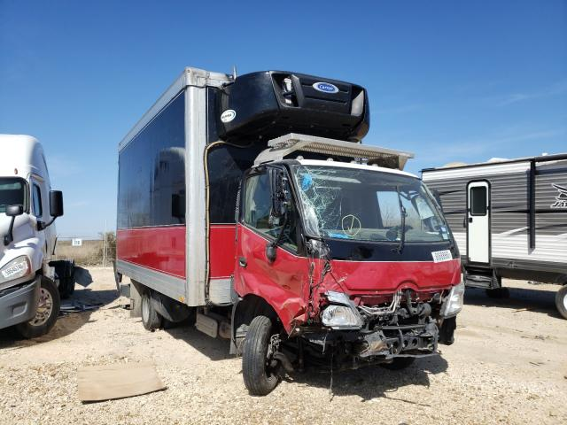Salvage cars for sale from Copart San Antonio, TX: 2019 Hino 155