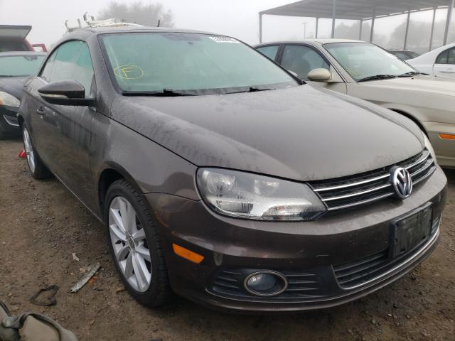 Volkswagen salvage cars for sale: 2012 Volkswagen EOS Komfor
