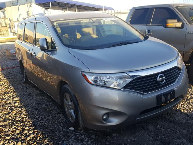 Salvage cars for sale from Copart Hueytown, AL: 2012 Nissan Quest S