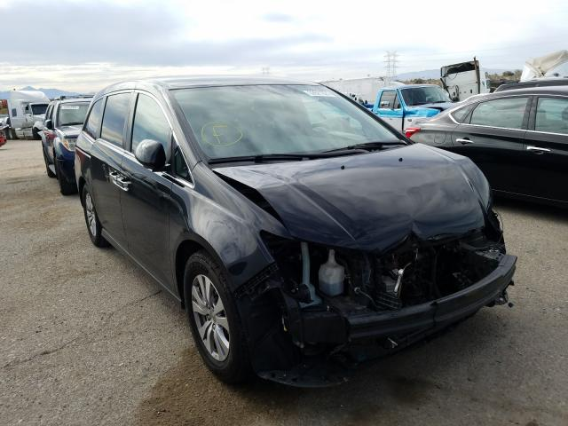 Salvage cars for sale from Copart Tucson, AZ: 2015 Honda Odyssey EX