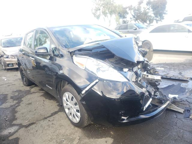 Nissan salvage cars for sale: 2017 Nissan Leaf S