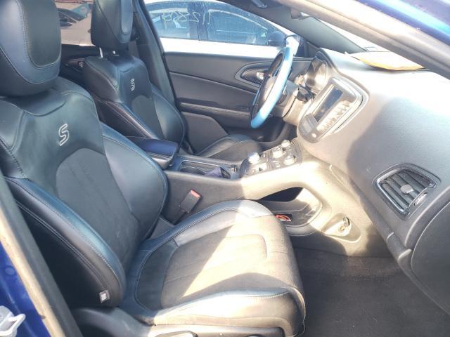 2015 CHRYSLER 200 S - Left Rear View