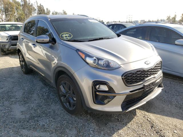 Salvage cars for sale from Copart Rancho Cucamonga, CA: 2020 KIA Sportage S
