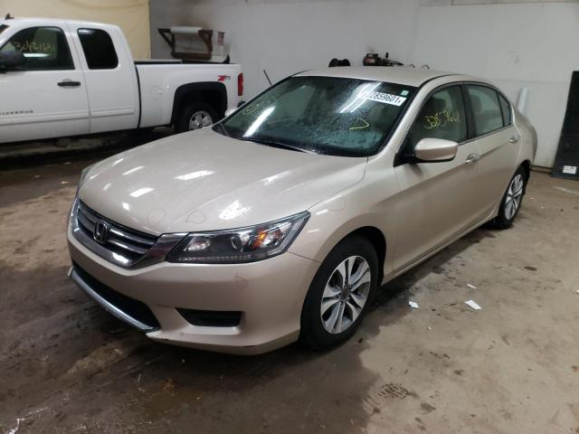 2015 HONDA ACCORD LX - Left Front View