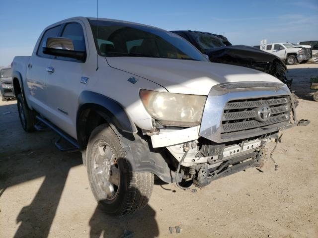 Salvage cars for sale from Copart Temple, TX: 2008 Toyota Tundra CRE