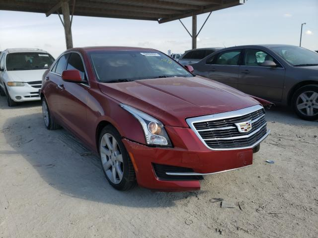 Salvage cars for sale from Copart Temple, TX: 2016 Cadillac ATS
