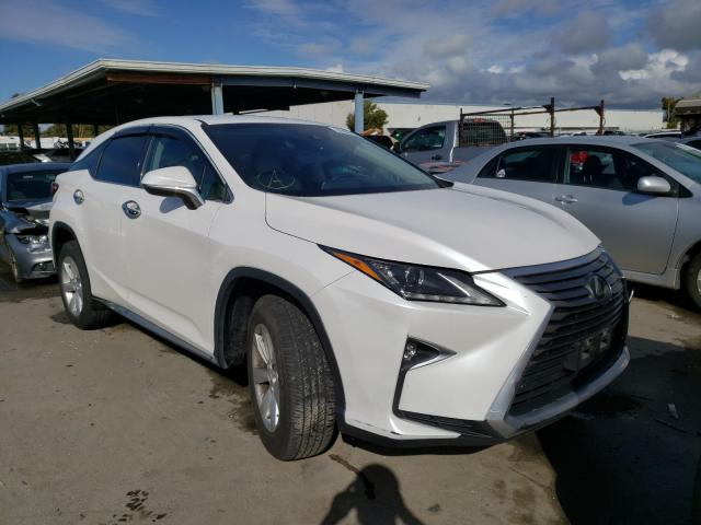 Salvage cars for sale from Copart Hayward, CA: 2017 Lexus RX 350 Base