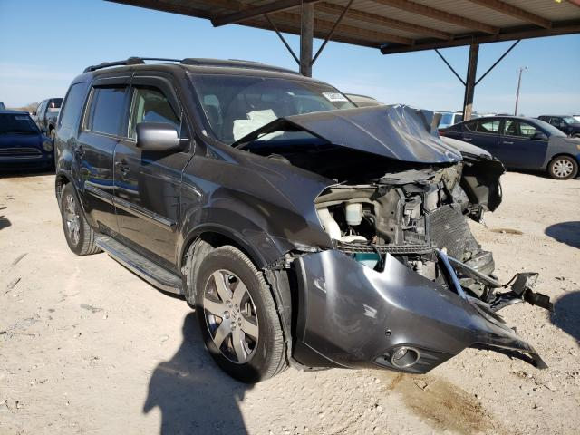 Salvage cars for sale from Copart Temple, TX: 2012 Honda Pilot Touring