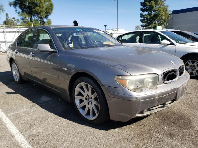 Salvage cars for sale from Copart Rancho Cucamonga, CA: 2002 BMW 745 I