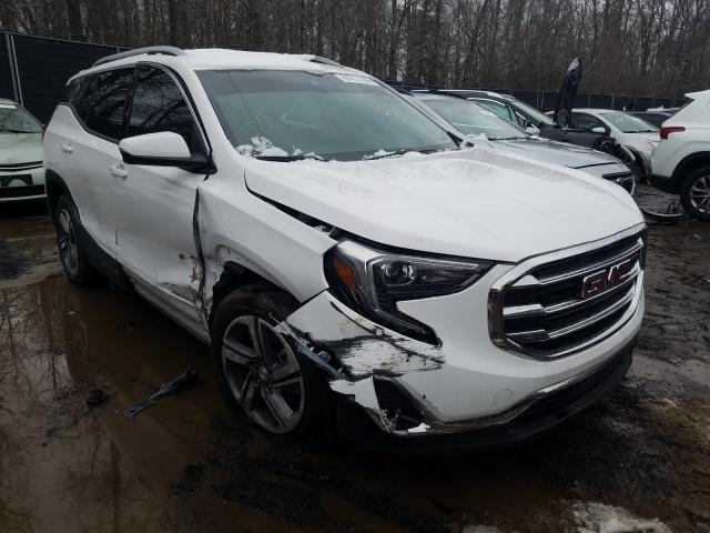 Salvage cars for sale from Copart Waldorf, MD: 2020 GMC Terrain SL