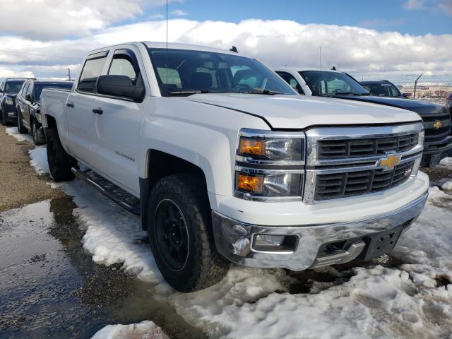 Salvage cars for sale from Copart Reno, NV: 2014 Chevrolet Silverado
