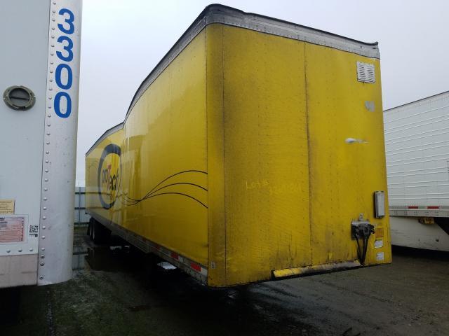 Utility DRY Van salvage cars for sale: 2004 Utility DRY Van