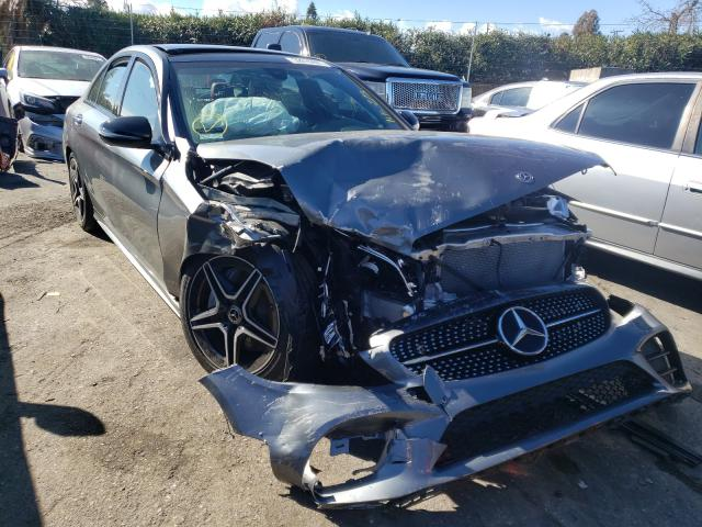 Salvage cars for sale from Copart San Martin, CA: 2019 Mercedes-Benz C300