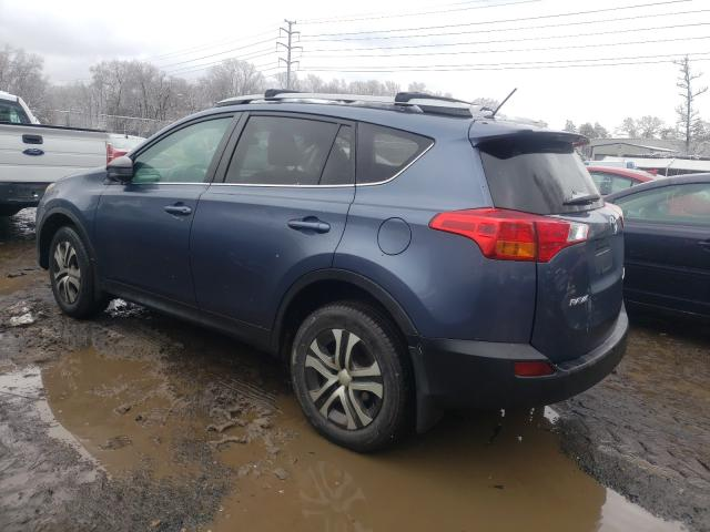2013 TOYOTA RAV4 LE - Right Front View