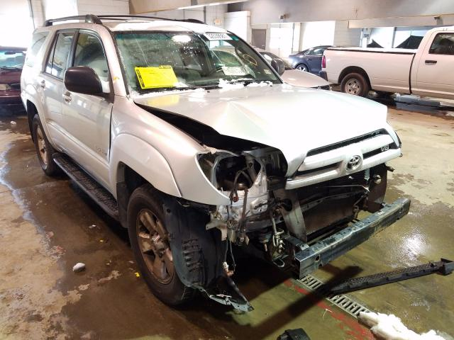 Salvage cars for sale from Copart Sandston, VA: 2004 Toyota 4runner SR
