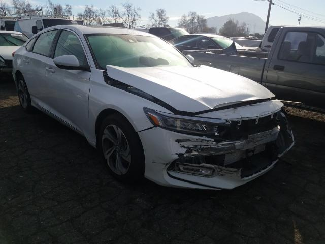 Salvage cars for sale from Copart Colton, CA: 2020 Honda Accord EX