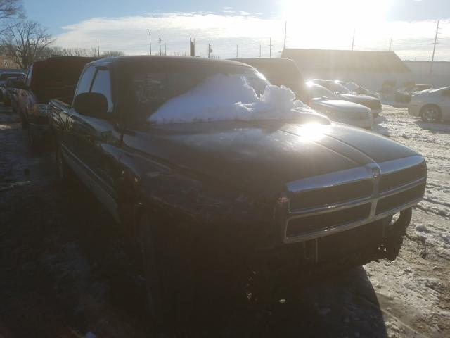 Salvage cars for sale from Copart Hammond, IN: 1999 Dodge RAM 1500