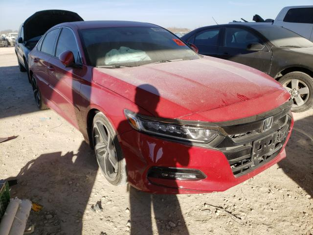 Salvage cars for sale from Copart Temple, TX: 2019 Honda Accord Sport