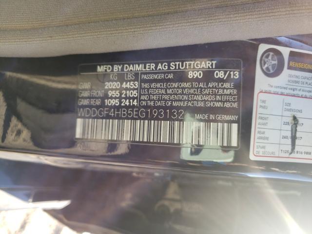 2014 MERCEDES-BENZ C 250 WDDGF4HB5EG193132