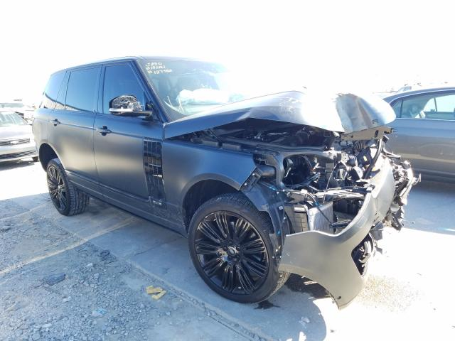 Salvage cars for sale from Copart New Orleans, LA: 2020 Land Rover Range Rover