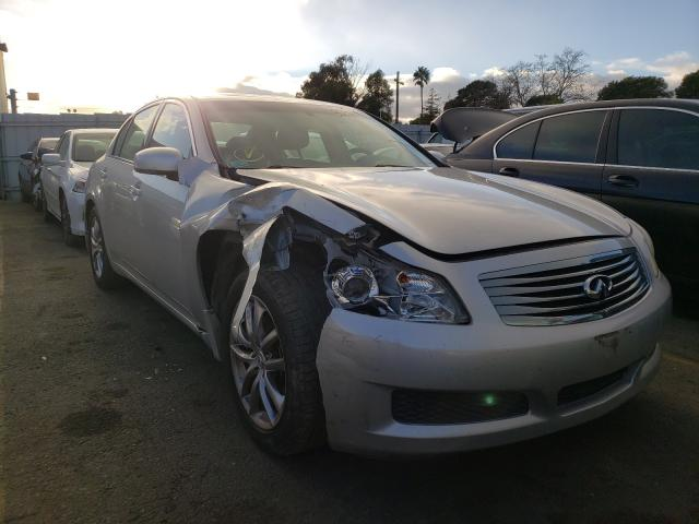 Salvage cars for sale from Copart Vallejo, CA: 2008 Infiniti G35