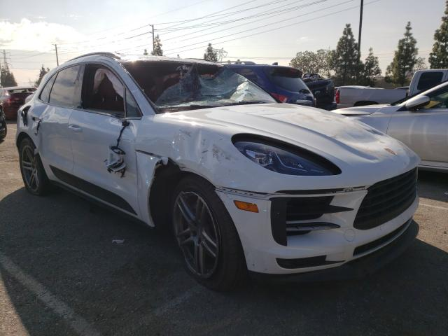 Salvage cars for sale from Copart Rancho Cucamonga, CA: 2020 Porsche Macan S