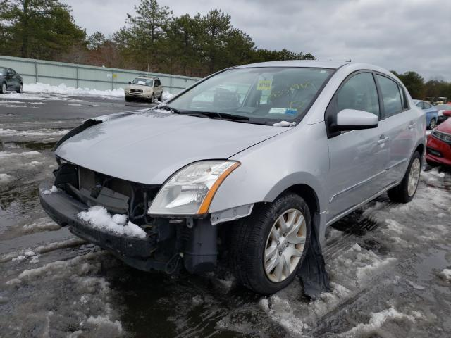 2010 NISSAN SENTRA 2.0 - Left Front View