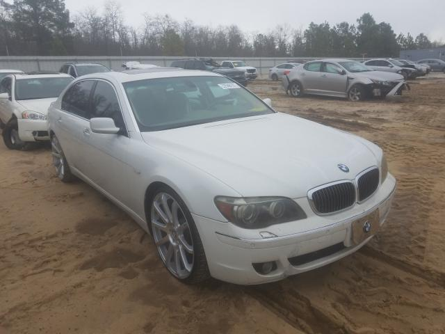 Salvage cars for sale from Copart Gaston, SC: 2006 BMW 750 LI