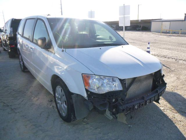 Salvage cars for sale from Copart Temple, TX: 2016 Dodge Grand Caravan