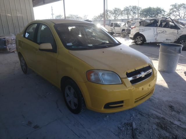 Salvage cars for sale from Copart Homestead, FL: 2009 Chevrolet Aveo LS