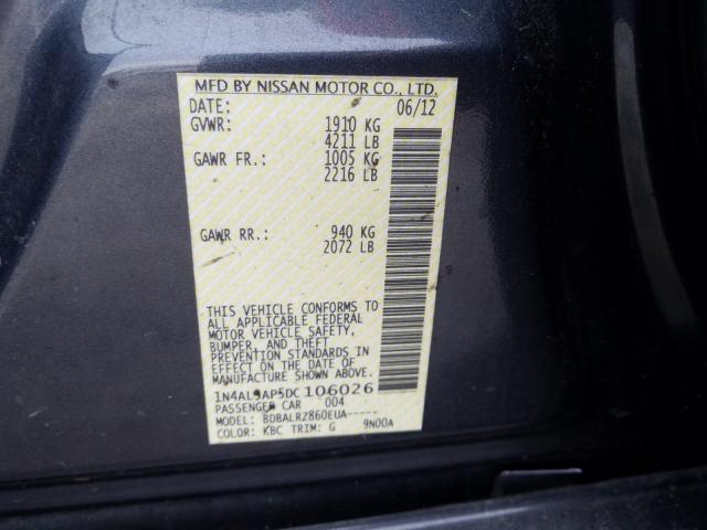 2013 Nissan ALTIMA | Vin: 1N4AL3AP5DC106026