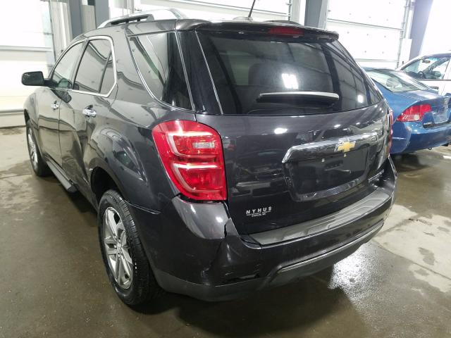 2016 CHEVROLET EQUINOX LT - Right Front View