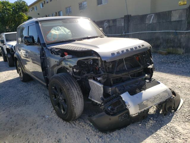 Salvage cars for sale from Copart Opa Locka, FL: 2020 Land Rover Defender 1